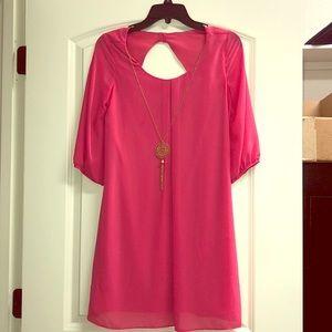 A. Byer Pink Dress